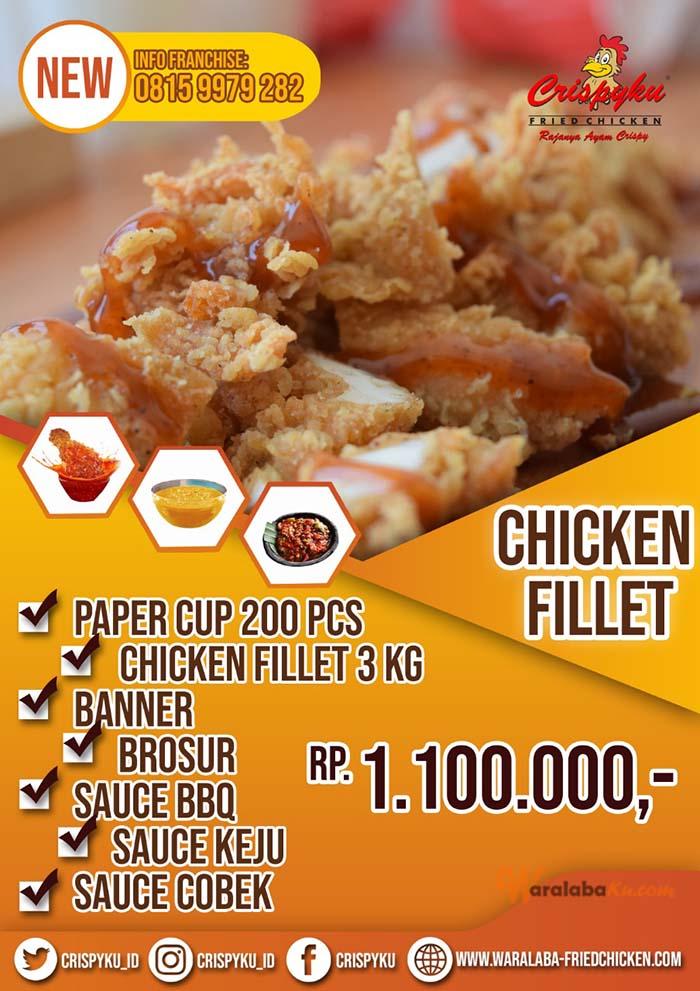Franchise Fried Chicken Crispyku | Peluang Bisnis Fried ...