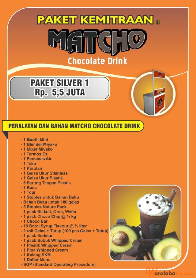 Franchise Peluang Usaha MATCHO CHOCOLATE DRINK