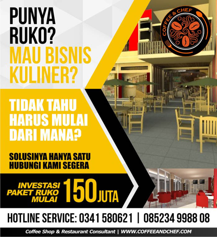 Franchise Peluang Usaha Coffee & Chef