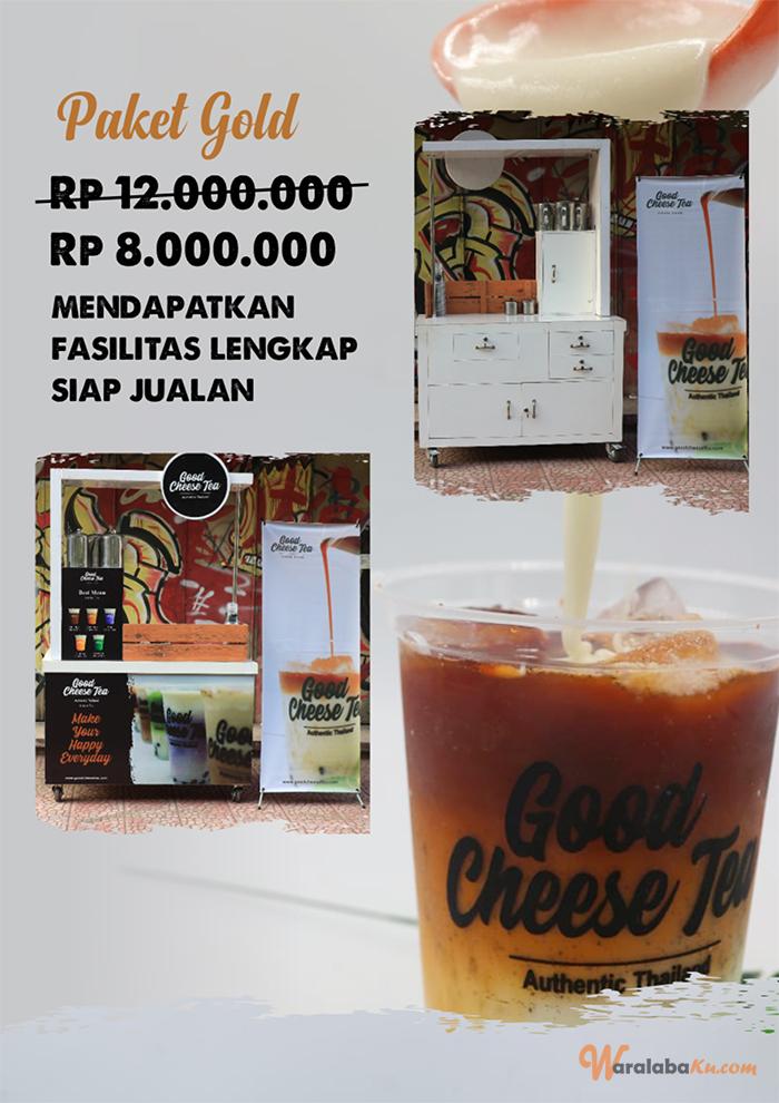 Franchise Good cheese tea | Peluang Bisnis Minuman Teh - Waralaba Ku