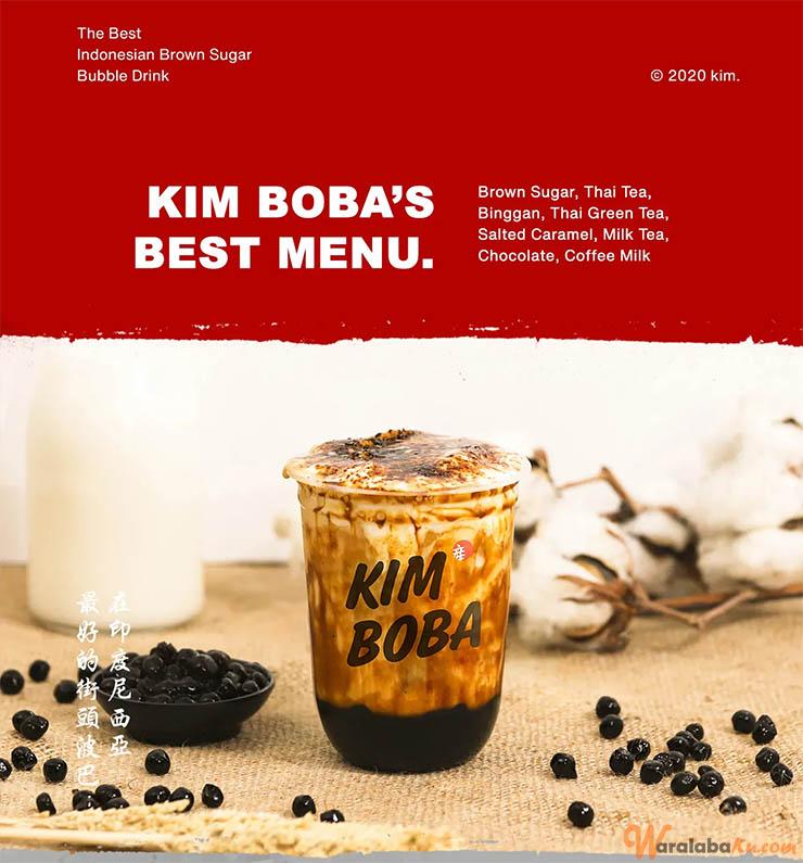 Franchise Kim Boba | Peluang Bisnis Minuman Boba - Waralaba Ku
