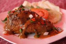 Ayam & Bebek Kremes Kriuuuk - Lada Hitam