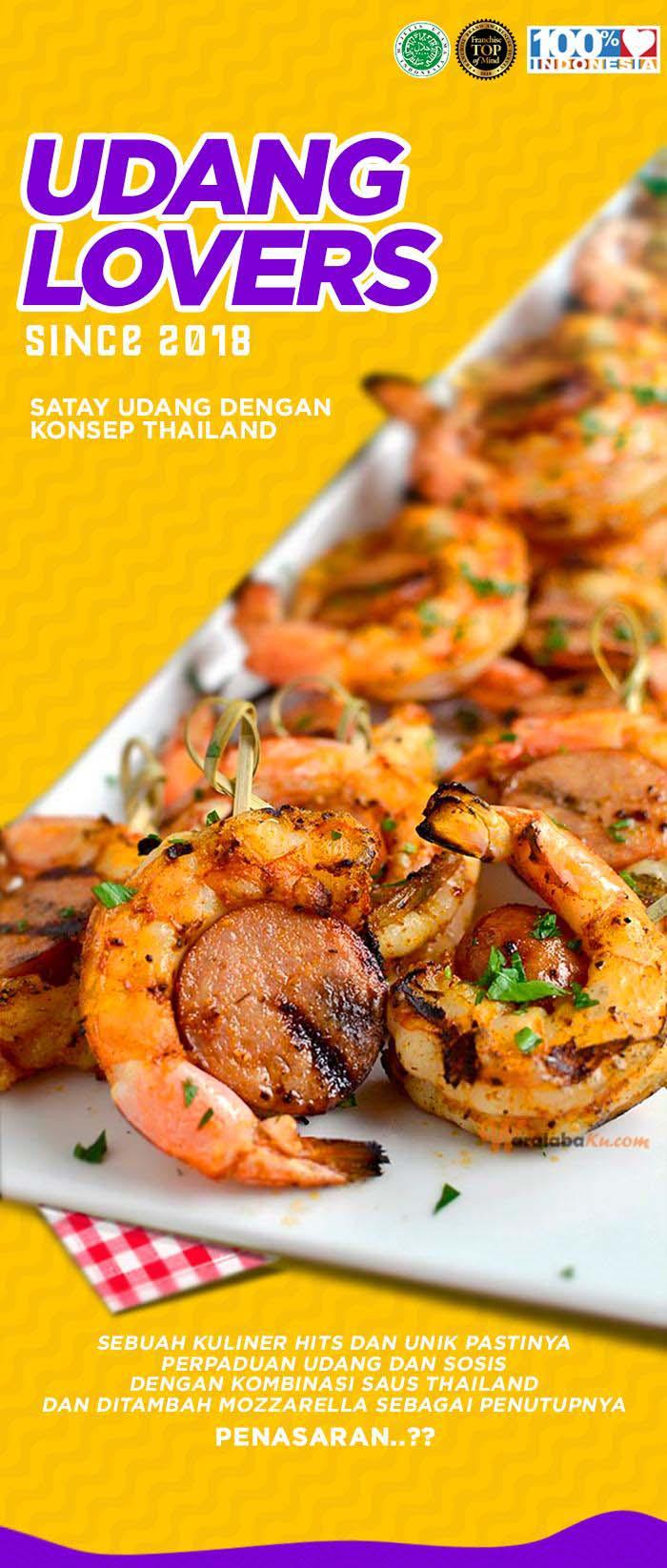 Franchise Seafood Udang Lovers Peluang Usaha Makanan Waralaba Ku