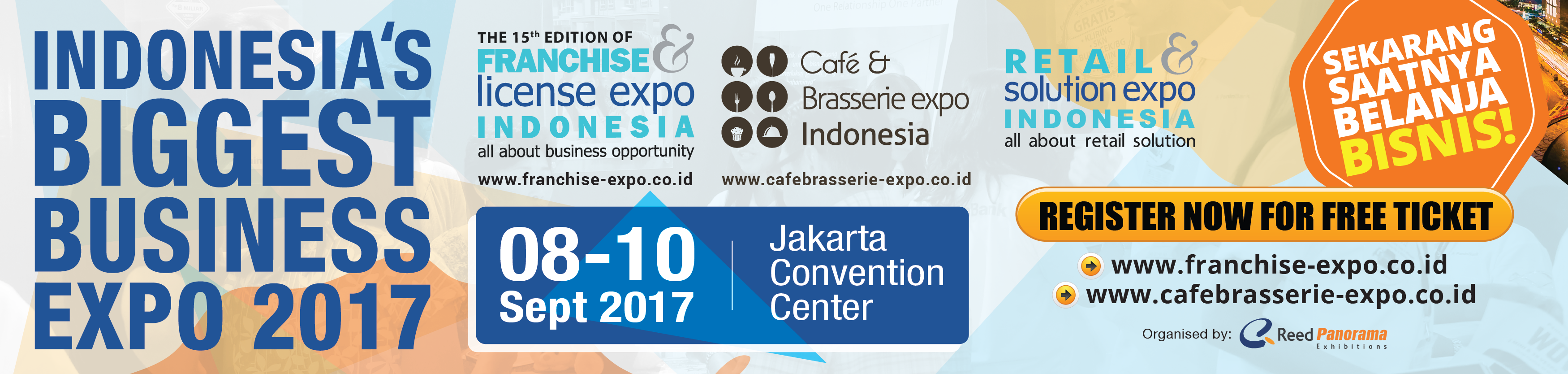 Franchise and License Expo Indonesia 2017
