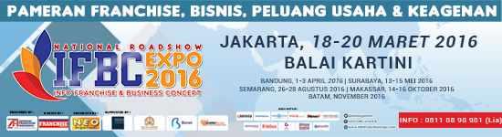 IFBC 2016 ~ Info Franchise & Business Concept Expo