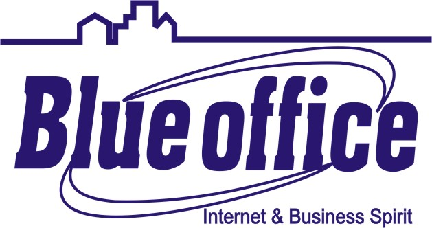Logo Franchise Blue Office