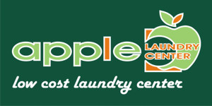 Logo Franchise Apple Laundry Center