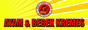 Logo Franchise Ayam & Bebek Kremes Kriuuuk