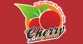 Logo Cherry Bubble Drinks