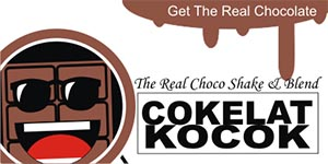 Franchise / Peluang Usaha Cokelat Kocok (The Real Choco Shake & Blend)