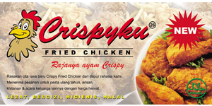 Logo Crispyku Fried Chicken