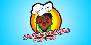 Logo Martabak mini Africa 'waka-waka'