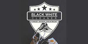 Logo BLACK WHITE CLEANER