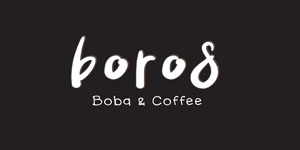 Logo Boros Boba & Coffee