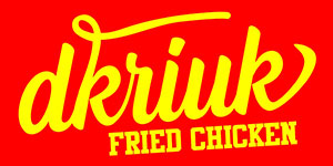 Logo D'Kriuk Fried Chicken