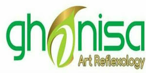 Logo Ghanisa Art Reflexology Indonesia