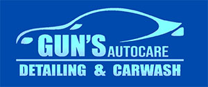 Logo GUN'S CAR WASH EXPRESS & DETAILING