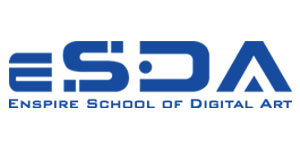 Logo Enspire School Of Digital Art (ESDA)