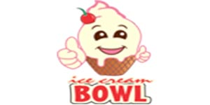 Logo Ice Cream Bowl