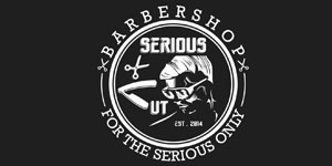 Logo Serious Cut Barbershop