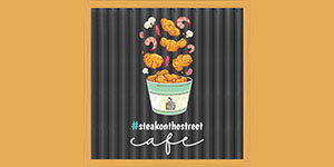 Logo Steak On The Street Cafe