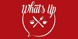 Logo What's Up Cafe