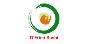 Logo D'fried Sushi