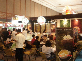 Stand Waralaba Coffee Toffee & Doble Dipps