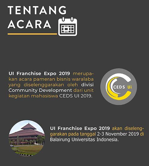 Universitas Indonesia Franchise Expo 2019